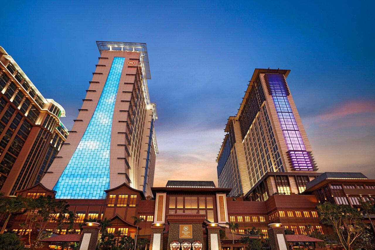 ฮอลิเดย์อินน์ มาเก๊าโกไท่เซ็นทรัล Sheraton Grand Macao, Cotai Strip